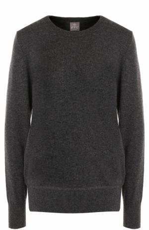 Кашемировый пуловер с бантами на спинке FTC. Цвет: темно-серый