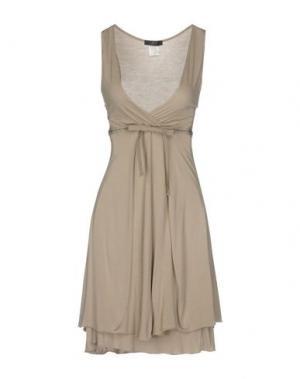 Платье до колена JEI O'. Цвет: светло-серый