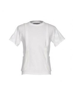 Футболка #BEENTRILL#. Цвет: белый