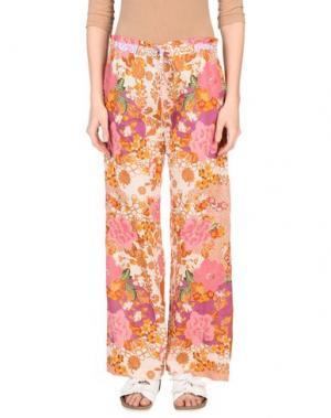 Повседневные брюки OPALINE. Цвет: розовый