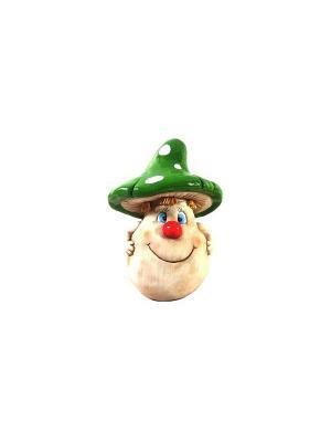 Садовая фигура - Мухомор Marquis. Цвет: голубой, красный, кремовый, зеленый