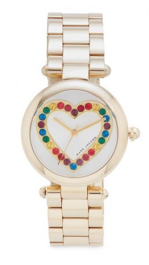 Часы Dotty Heart Glitz Marc Jacobs