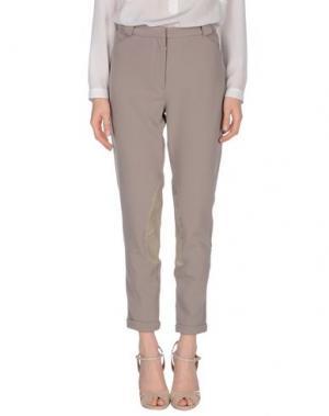 Повседневные брюки DAY BIRGER ET MIKKELSEN. Цвет: голубиный серый