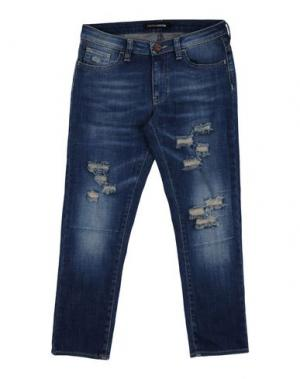 Джинсовые брюки EUROPEAN CULTURE. Цвет: синий