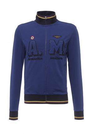 Олимпийка Aeronautica Militare. Цвет: синий