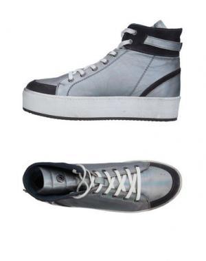 Высокие кеды и кроссовки JANET SPORT. Цвет: серый