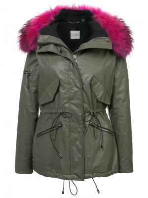 Куртка Mini Hudson Sam.. Цвет: зелёный