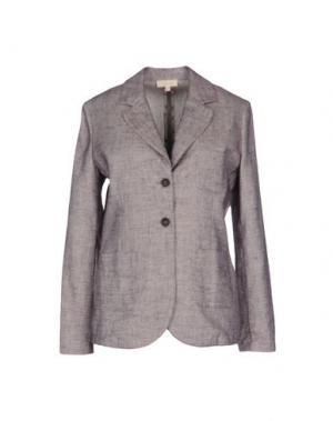 Пиджак ZHELDA. Цвет: голубиный серый