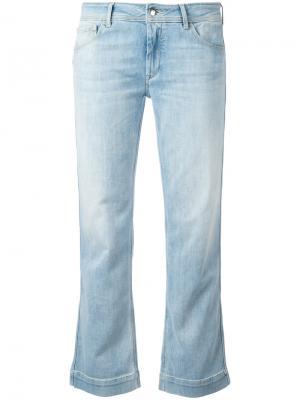 Укороченные джинсы буткат The Seafarer. Цвет: синий