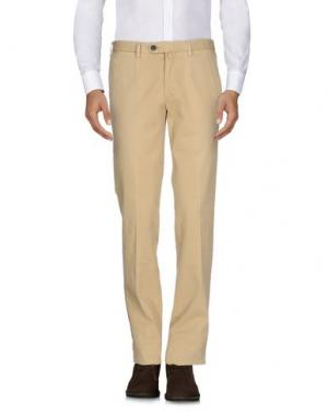 Повседневные брюки VERDERA. Цвет: песочный