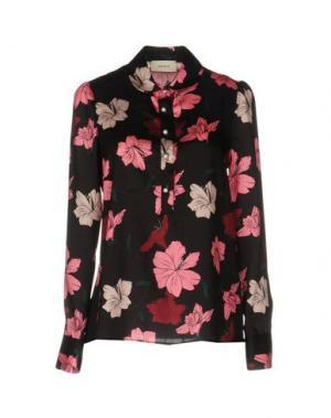 Pубашка VICOLO. Цвет: черный