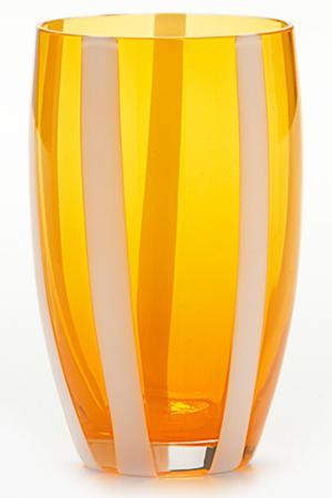 Бокал для сока и воды Zafferano. Цвет: оранжевый