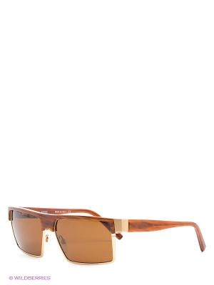 Солнцезащитные очки GF 962 03 Gianfranco Ferre. Цвет: коричневый