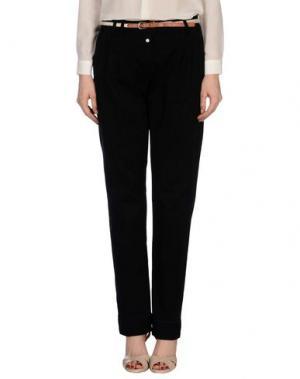 Повседневные брюки SOCCX. Цвет: черный