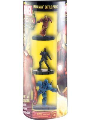 Фигурка Heroclix Marvel Classics Ironman and Black Widow Neca. Цвет: черный