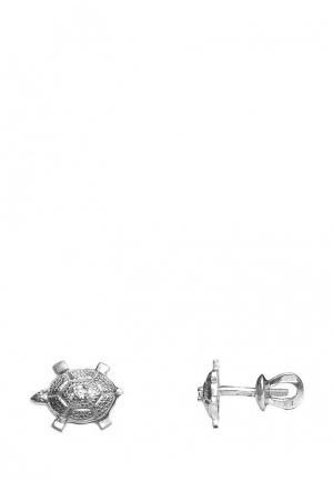 Серьги Amorem. Цвет: серебряный