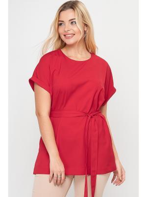 Блузки Limonti. Цвет: красный