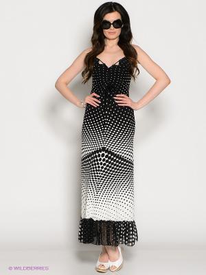 Сарафан Valeria Lux. Цвет: черный, белый