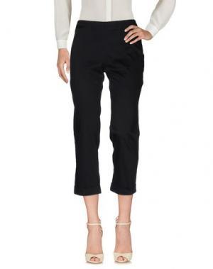 Повседневные брюки BARBARA TADDEI. Цвет: черный