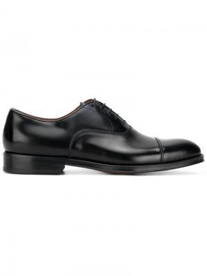 Туфли со шнуровкой Doucals Doucal's. Цвет: чёрный