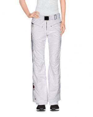 Лыжные брюки KRU. Цвет: белый
