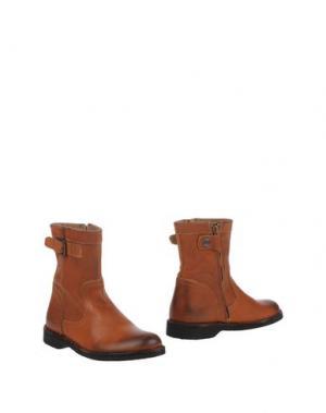 Полусапоги и высокие ботинки BISGAARD. Цвет: желто-коричневый