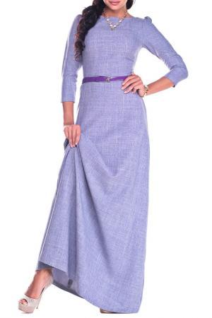 Платье MAURINI. Цвет: фиолетовая дымка