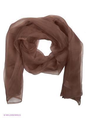 Платок Oltre. Цвет: коричневый