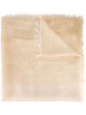 Плетеный платок Faliero Sarti. Цвет: телесный