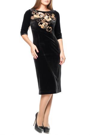 Платье Yuko-Selena. Цвет: черный