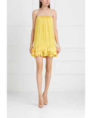 Платье Jay Ahr. Цвет: желтый