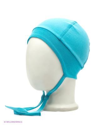 Шапка Sanetta. Цвет: голубой