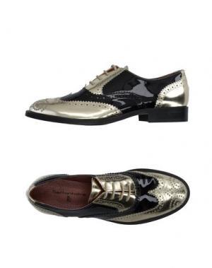 Обувь на шнурках SETTANTATRE LR. Цвет: платиновый