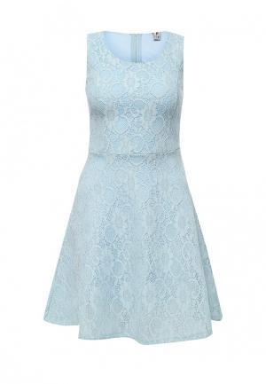 Платье Troll. Цвет: голубой