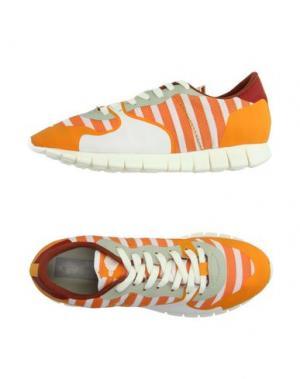 Низкие кеды и кроссовки SOYA FISH. Цвет: оранжевый
