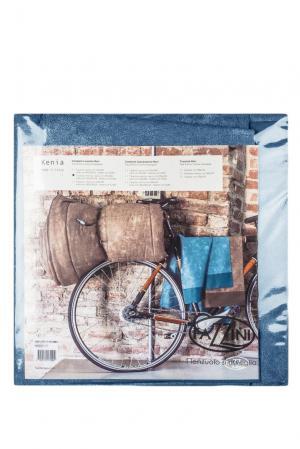 Комплект постельного белья 119757 Fazzini. Цвет: синий