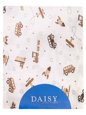 Пеленка Транспорт DAISY. Цвет: светло-коричневый, бежевый, светло-бежевый