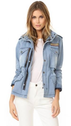 Джинсовая куртка Jocelyn. Цвет: деним