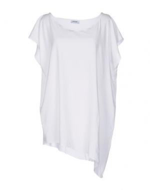 Блузка BASE. Цвет: белый