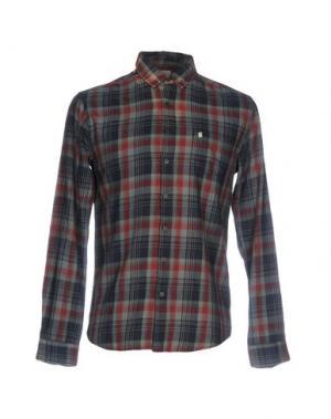 Pубашка 40WEFT. Цвет: свинцово-серый