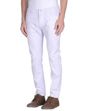 Повседневные брюки ENTRE AMIS. Цвет: светло-розовый