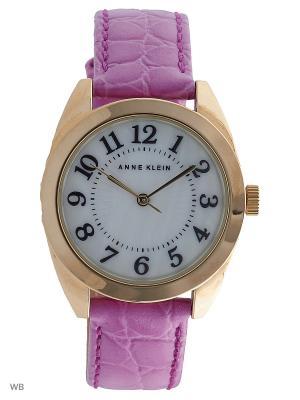 Часы ANNE KLEIN. Цвет: фиолетовый