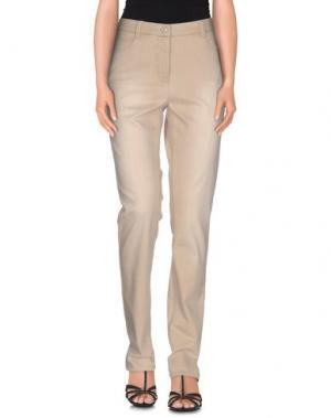 Джинсовые брюки BARBARA LEBEK. Цвет: бежевый