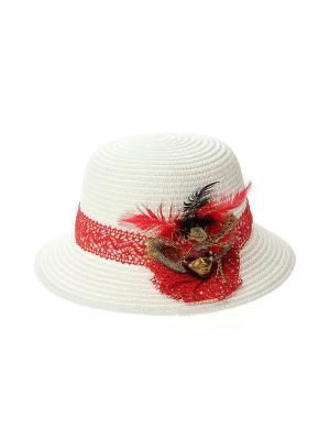Шляпа Solorana. Цвет: белый