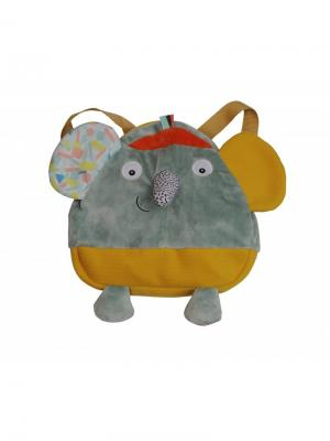 Ebulobo Рюкзачок Слоненок Зиги. Цвет: оранжевый, желтый