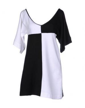 Короткое платье AGATHA. Цвет: белый