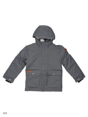 Куртка Columbia. Цвет: темно-серый