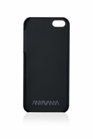 Чехол для iPhone 5/5S ANYAVANYA. Цвет: черный, серый