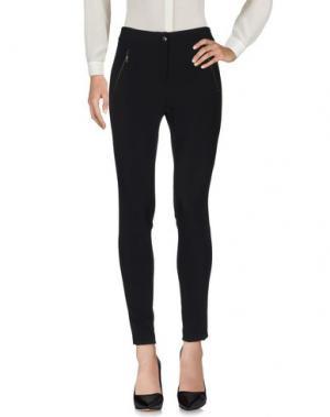 Повседневные брюки CLIPS MORE. Цвет: черный