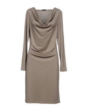 Платье до колена MARGIT BRANDT. Цвет: серый